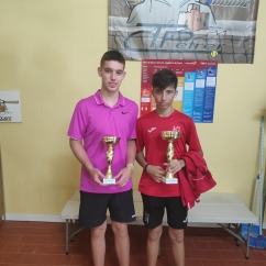 Cuadro Gold Pablo Adell Finalista, Marc Bernabeu Campeón