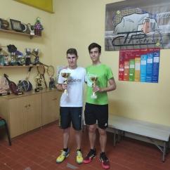 Cuadro Silver Finalista Jaume Martinez, Campeón Antonio Quiles
